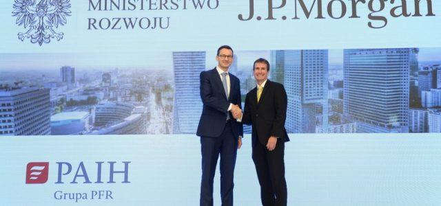 JP Morgan otrzymuje ponad 20 mln dotację. Jakie wiążą się z tym korzyści dla Polski?